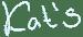 Kat's Coffee – Unawatuna Logo